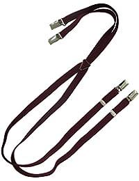 New WARRIOR 1/2 inch Wine Braces/Suspenders Skin/Mod/Punk
