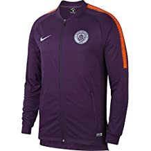 best service 87718 1edd5 Nike MCFC M NK Dry SQD TRK Jkt K Jacke, Herren, Mehrfarbig (Night