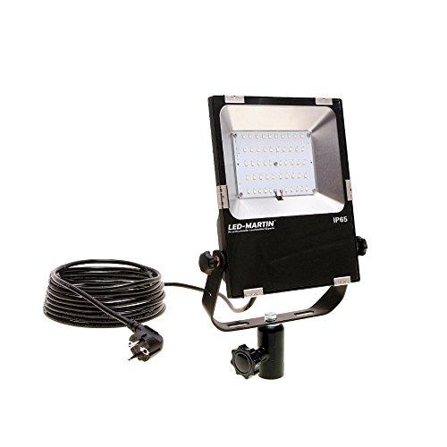 Preisvergleich Produktbild LED-MARTIN INTENSE Fluter 80W für DIN 14640 Lichtmast - Feuerwehr - THW - DRK - POLIZEI