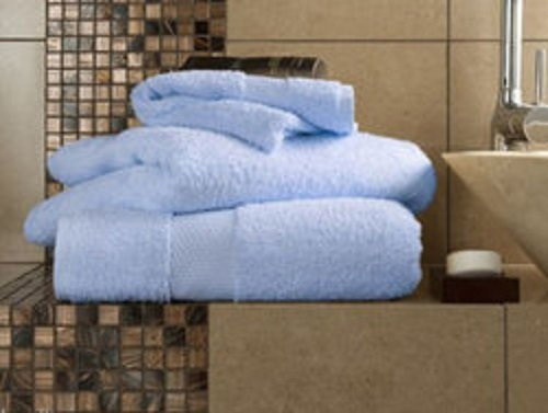 Linensrange Miami Chambray 100% ägyptische Baumwolle saugfähig Handtücher, Duschtücher & Bad Blatt, Chambray, 2 Bath Towels (Ägyptische Bad Blatt)