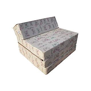 Natalia Spzoo Matelas lit fauteuil futon pliable pliant choix des couleurs - longueur 200 cm (001)