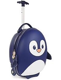 Boppi Tiny Trekker Valise de Voyage Bagage Cabine Valise à roulettes légère Bagage à Main à roulettes de 17 litres