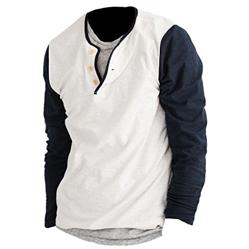 abercrombie-homme-baseball-henley-shirt-top-longue-taille-large-navy-625592878