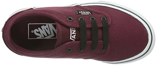 Vans Y Atwood, Baskets mode mixte enfant Rouge (Oxblood/Black)