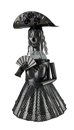 Wein Bodies za424Mariachi Skelett Metall Weinflaschenhalter Charakter, (Mariachi Kleid)