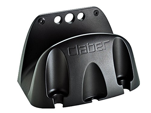 Claber Eco 0 - soportes de manguera (Polipropileno, Negro, Pared)