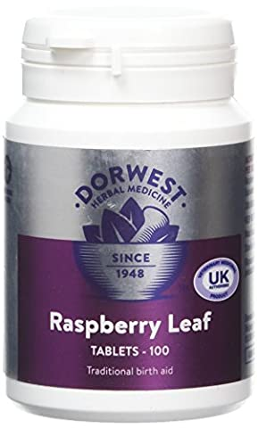 Dorwest Herbs Raspberry Leaf Tablets for Dogs and Cats 100
