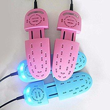 Pink: Hohe normalgroß Roll-Geruchsentferner Elektrische UV-Schuhe Stiefel Handschuh Trockner Heizung Schuhe Trockner