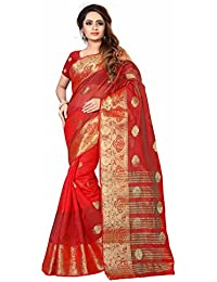 Inheart Art Silk Woven Sarees New Collection With A Blouse Piece (Beautiful Saree For Women Party Wear Offer Designer...
