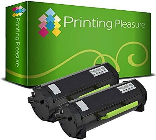 Preisvergleich Produktbild 2 Toner kompatibel für Lexmark MX310 MX410 MX510 MX511 MX611 / 60F2000 602 60F200E 602E 2.500 Seiten
