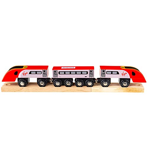 Bigjigs Rail Train Virgin Pendolino