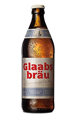 Glaabsbräu Kristallweizen 12 Flaschen x 0,33