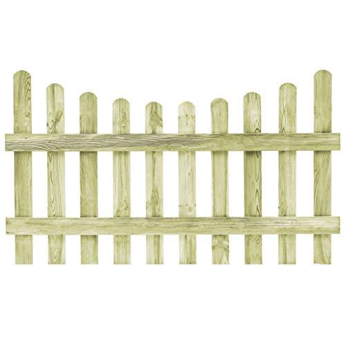 Tidyard steccato in legno di pino impregnato fsc | 170 x 100 cm | rispettoso dell'ambiente | resistente agli decadimento