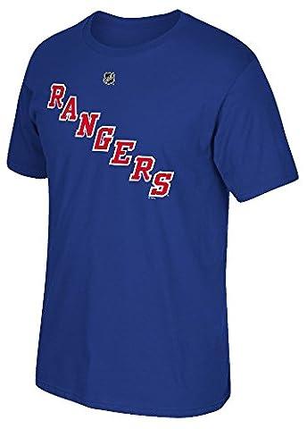 Ryan McDonagh New York Rangers Reebok NHL Player Men's Blue T-Shirt Chemise