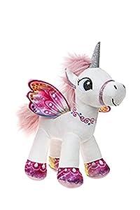 Unicornio con alas de pie