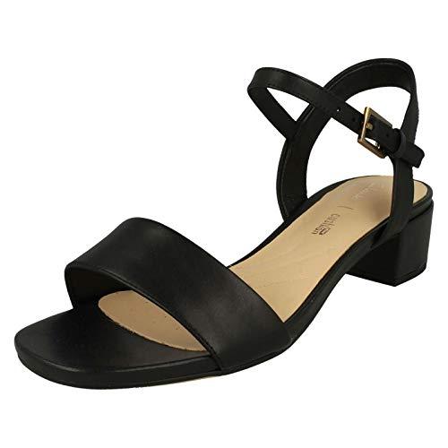 Clarks Orabella Iris Womens Sandals 4.5 D (m) UK/37,5 EU Schwarz -