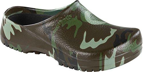 BIRKENSTOCK Professional Clog Super Birki Green Camouflage Gr. 35-48 068681, Größe + Weite:36 Normal, Farben:Green Camouflage -