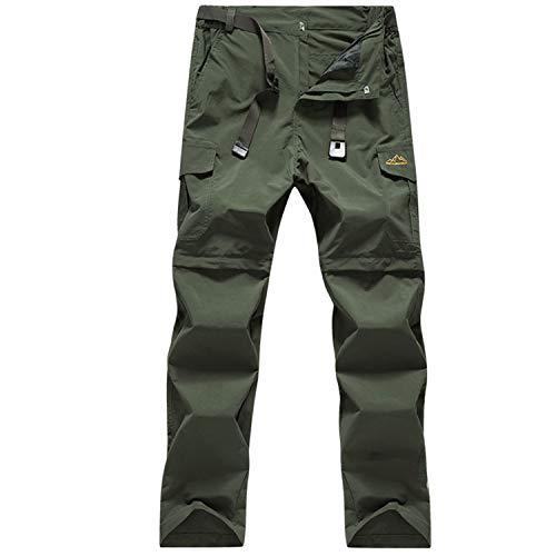 SUKUTU Pantalones Bolsillos múltiples Secado rápido