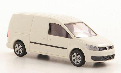 Preisvergleich Produktbild VW Caddy Maxi Kasten, weissgrau, 2011, Modellauto, Fertigmodell, Rietze 1:87