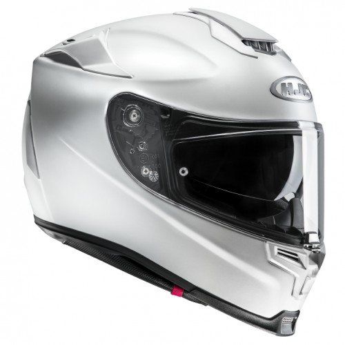 HJC casco Moto Rpha 70 Semi Perla, color blanco, talla M