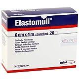"""20 Fixierbinden 4 m x 6 cm """"Elastomull"""" elastisch, 1 x 20 Stück"""