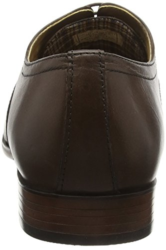 Red Tape Stowe, Chaussures à Lacets Homme Marron