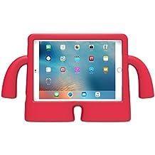Speck Funda Vertical de Espuma iGuy de iPad 9.7 Air y iPad Air 2 para niños - Rojo Guindilla