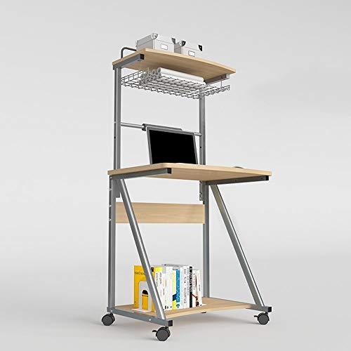 YueQiSong Multi-Funktions-Tisch Computer Schreibtisch Schreibtisch mit Hutch Modern Style Workstation Schreibtisch, c, Ohne Tastaturunterstützung (Schreibtisch Mit Moderne Hutch)