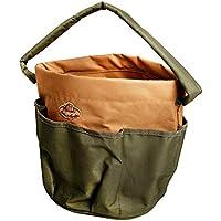 Esschert Design GT0528x 28x 26cm–Bolsa de Tela para Herramientas de jardín, Verde