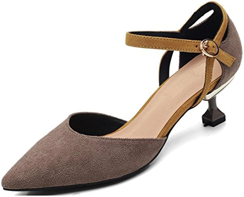 564c36a6bd2 Ruiren Women Pointed Toe Kitten 30137 High Heels Bridal Court Heels Shoes  Straps Wedding Prom Party Bridal Shoes B07G17W9LP Parent 6cf1de5 ...