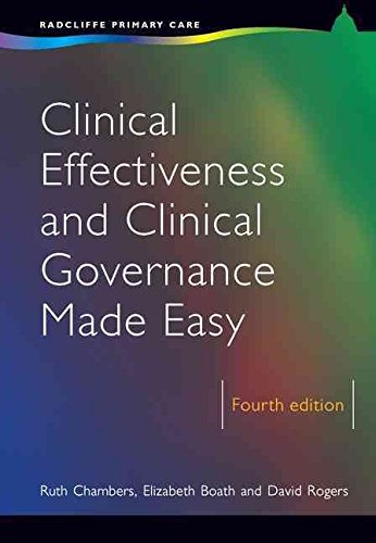 [(Clinical Effectiveness and Clinical Governance Made Easy)] [By (author) Ruth Chambers ] published on (February, 2007)