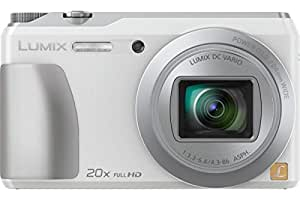 """Panasonic TZ55 Appareil photo numérique hybride 3"""" (7,62 cm)16,1 Mpix Zoom optique 20x Argent"""
