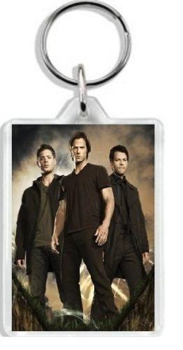 Jensen Ackles Supernatural Jared Padalecki-Portachiavi/Bagtag#10