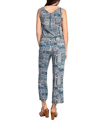 ESPRIT Damen Jumpsuits Mehrfarbig (DARK BLUE 405)