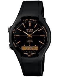 Casio Collection - Herren-Armbanduhr mit Analog/Digital-Display und Resin-Armband - AW-90H-9EVEF