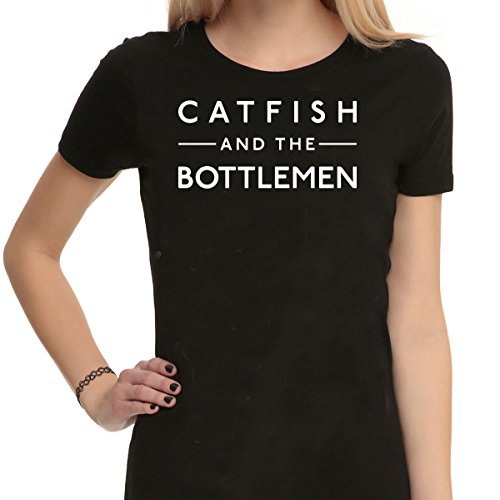 Catfish e la fascia bottlemen - Maglietta nero unisex T Shirt Black Medium