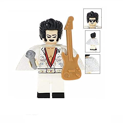 Elvis Presley Der König von Rock Custom Lego Minifigure kompatibel mit Lego Diy Figur perfekt für Weihnachten - Weihnachten