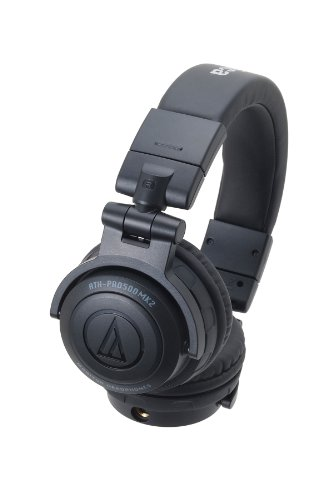 Audio-Technica  ATH-PRO500MK2 BK  Casque DJ Professionnel