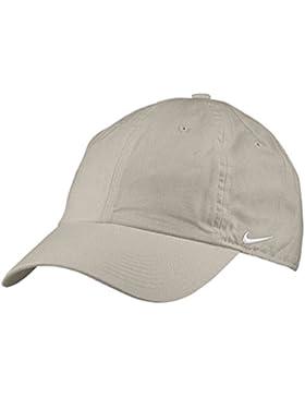 Nike Heritage 86 CAP Gorra de Tenis, Unisex Adulto, Beige (Chino/White), Talla Única