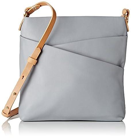 Clarks Women's Tottington Duo Top-Handle Bag, Grey (Grey Leather), 4x21x20 cm (B x H x T)