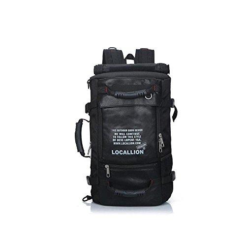 HTRPF Reisetasche Herren Outdoors Paket Wasserdichte Nylon Tuch Herren Tasche , A
