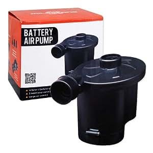 Milestone Camping Battery Air Pump - Black