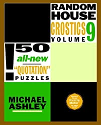 Random House Crostics, Volume 9 (Other)