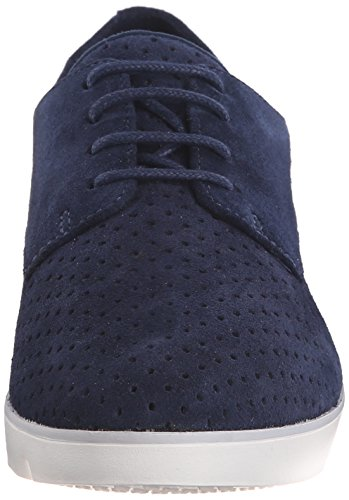 Clarks Evie Bow Oxford Navy Suede