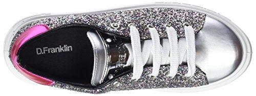 Franklin Silver Silber Sneakers D Glitter Gumme Damen YUdqwAq