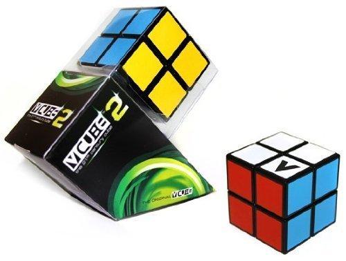 V-Cube 2 Black Flat - Cube Officiel Des Championnats De France De Speed Cubing