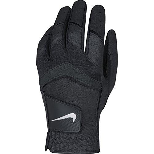 Nike Herren Golf handschuhe Dura Feel VIII Reg LH, Black/Metallic Cool Silver, ML, GG0475-001