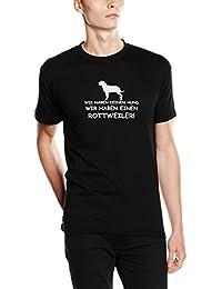 Shirtzshop T-shirt Wir haben einen Rottweiler