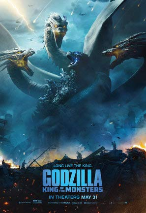 Godzilla : King of The Monsters - U.S Movie Wall Poster Print - 30cm x 43cm / 12 Inches x 17 Inches -