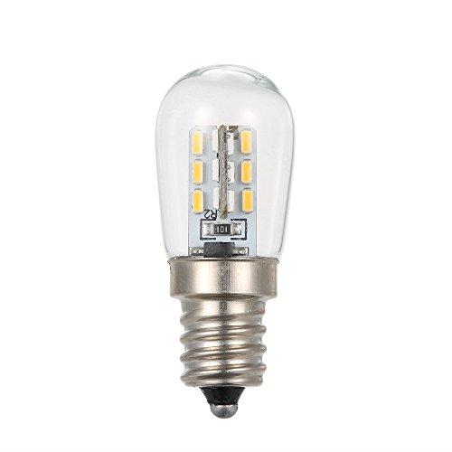 Lixada AC110V / 220V LED Mini Kühlschrank Licht Kühlschrank Lampe E12 Glühbirne Socket Halter SMD3014 (Sport-kühlschrank)